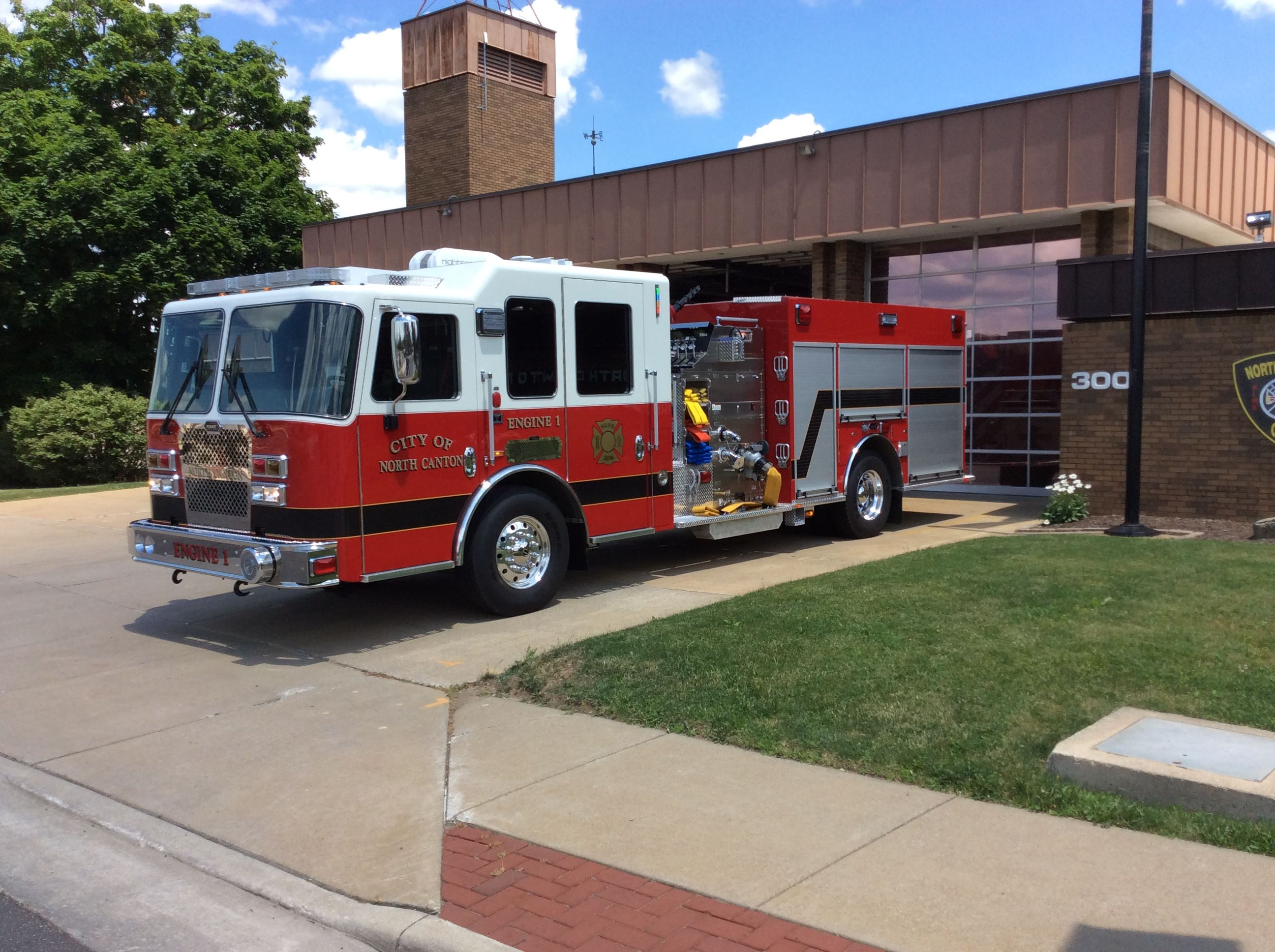 Engine 1 2016 KME Predator Panther 1500 GPM Pump