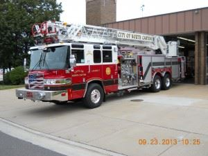 Ladder Truck Driver Side